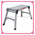 Big Folding Two Step Hop Up Aluminium Work Bench Platform ladder