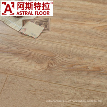 2015 New Style Eiche Handscraped Getreide / Laminatboden (AS82002)