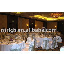 Chair covers,Satin chair covers,hotel chair covers,organza sash