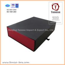 Caixa de armazenamento de ferramentas Caixa de papel preta e vermelha, caixa nova