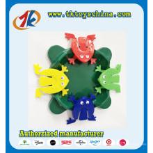 Buntes lustiges Plastik springen Frosch-Spielzeug für Verkauf