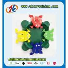 Jouet en plastique coloré drôle de grenouille de saut à vendre