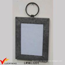 Wand-hängende Rechteck-Metall-Fotorahmen