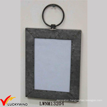 Wall Hanging Rectangle Metal Photo Frame