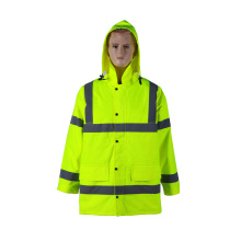 EN20471 waterproof jacket reflective safety jacket