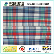 Yarn-Dyed Cotton Plaid Fabric for Shirt (50s*50s)