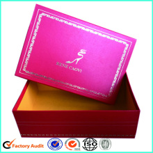 Luxury Ladies Shoe Box Custom Design