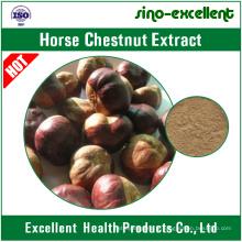 poudre naturelle d'extrait de marron d'Inde