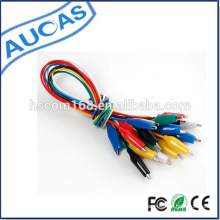 Cable del clip del aligator / cable del clip del cocodrilo / cable del aligator / cable del cocodrilo / puente
