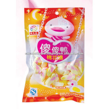Plastiktüten für Zuckerwatte verpackt