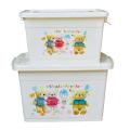Boîte à contenants pour contenants en plastique pour animaux domestiques (SLSN046)