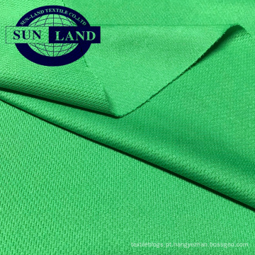 Tecido 100% coolpass quick dry para sportswear activewear