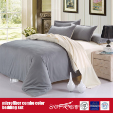 Luxury Solid Color Comfortable Combo Microfiber Sheet Set