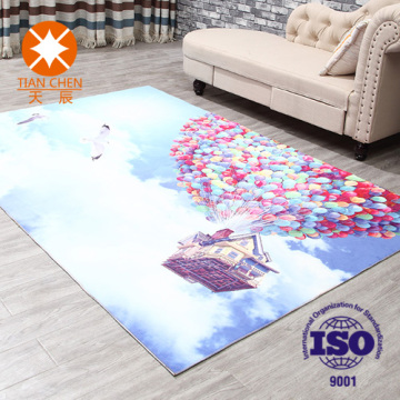 Turkish Printed Floor Designer Bedroom Carpet Rug