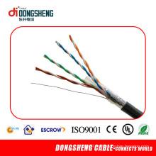 Cable de LAN de dos cabezales de conexión al exterior FTP Cat5e