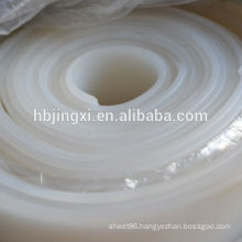 Transparent White Silicone rubber sheet