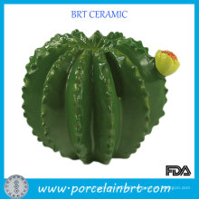 Novelty Gift Prickly Pear Ceramic Money Coin Piggy Bank