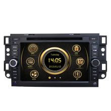 Lecteur de musique de voiture d'usine pour Chevrolet Captiva / Epica / Lova avec GPS / Bluetooth / Radio / SWC / Internet virtuel 6CD / 3G / ATV / iPod / DVR