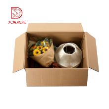 China tamanho personalizado caixas de embalagens de vidro de vinho de comida decorativa