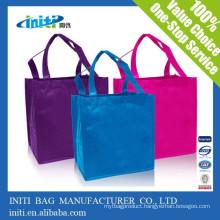 China custom cheap quality Custom made non woven bag shopping bag
