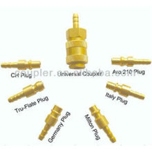 Universal pneumatic tool/air hose joint