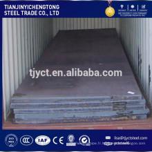Tôle d'acier doux de carbone SS400 Q235 S235JR tôle d'acier