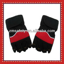 Custom Leather weightlifting workout gloves