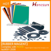 2014 new product rubber magnet customized shapes