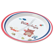 "Melamine""France Bear""Seires Melamine Lunch Plate (FB13204)"