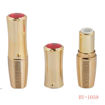 Attractive Oval Gold Lipstick Tube