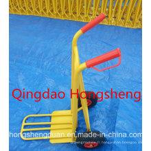 Bon prix fabriqué en Chine Ht1826 poids 11 kg chariot à main