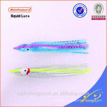 SLL073 мягкие Пластиковые Рыбалка приманки мягкий Кальмар юбки приманки