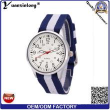 Yxl-625 Mode promotionnelle Unisexe Nato Strap Watch, Fashion Hotselling Nylon Band Watch