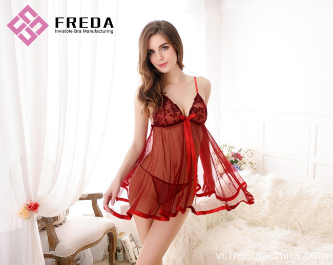 Hot Sexy Lace và Babydoll Lingerie nightdress