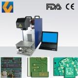 Air Cooling 10W 20W 30W Fiber PCB Laser Marking Machine