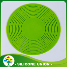 Non Slip Round Silicone Coaster Mat For Kitchen