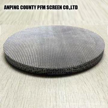Perforierte Platte Edelstahl 1 Mikron gesinterte Maschendrahtfilter