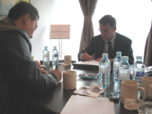 Welcome Mr. Ing. Sergio Vinci, Managing Director Of Ceccato Company In Italy To Visit Autobase.