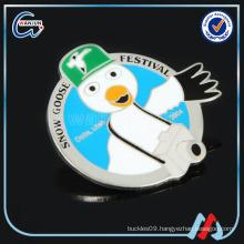 snow goose festival decoration badges