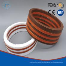 Vee Verpackung in der Technik Kunststoff oder PTFE / Teflon Material