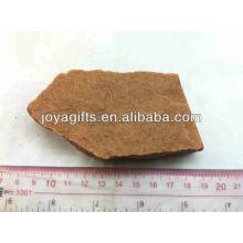 Piedra natural áspero-Rosa Cuarzo para la educación de los niños