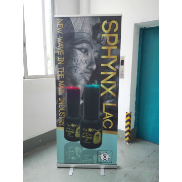 Utomhus Aluminium Alloy Roll Up Banner Stand