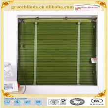 Motorized customized faux wood blinds venetian window and wood blind
