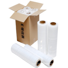 LLDPE 23 micron New Pallet Wrap Stretch Film Hand Transparent Packing Stretch Film
