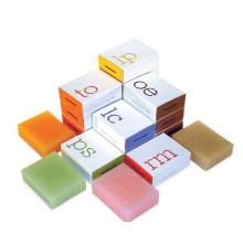 boîte de savon faite sur commande de fabrication professionnelle de haute qualité