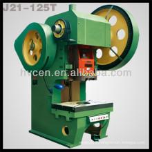 Machine perforatrice mécanique en tôle mécanique 125 tonnes