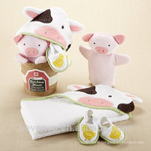 Towel for baby 100% bamboo baby Hooded towel perfect for newborn and infand cow super fluffy premium baby bath towel