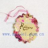 hang tags printing with gold foil hang tags