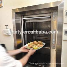 Électrique muet serveur dumbwaiter restaurant cuisine à usage résidentiel ascenseur alimentaire
