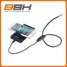 Cámara de inspección de endoscopio WiFi, cámara de inspección de boroscopio impermeable con iPhone / IOS / Android